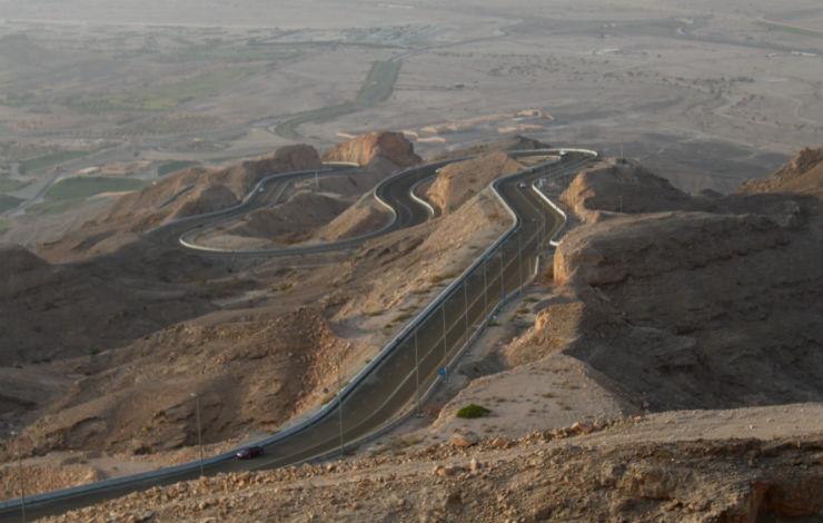 Estrada da Montanha Jebel Hafeet