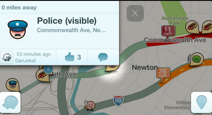 Projeto de lei proíbe apps como o Waze