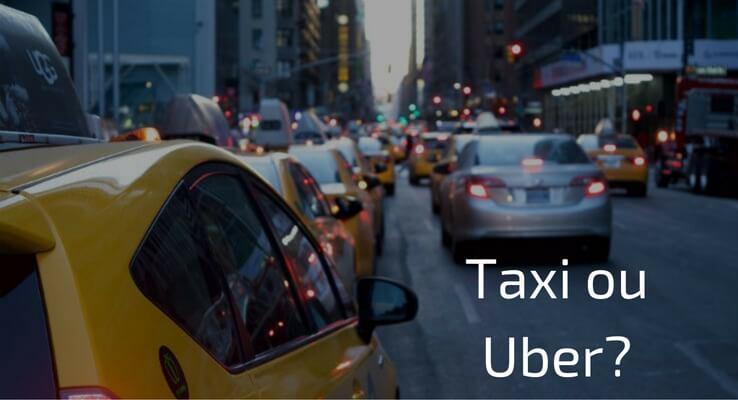 Taxi ou Uber