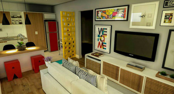 sala decorada