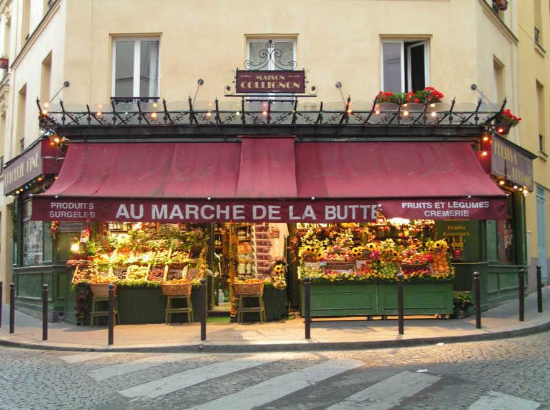 Amelie Poulain Montmartre Paris