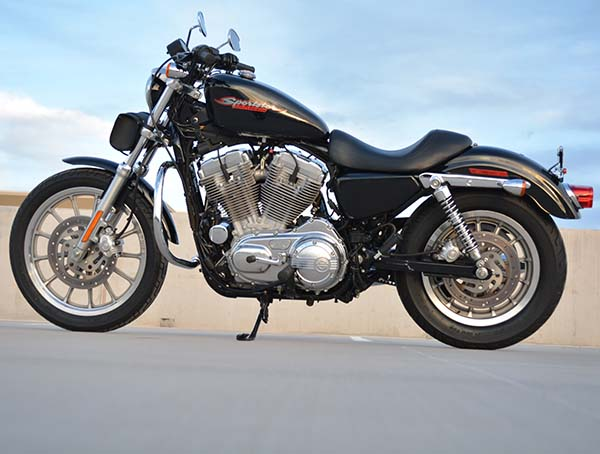 Harley Davidson XL883 categoria custom