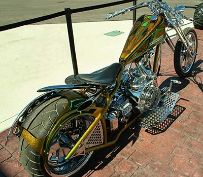 Motocicleta da categoria chopper custom