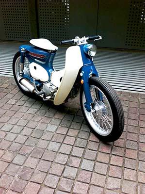 motocicleta da categoria cub