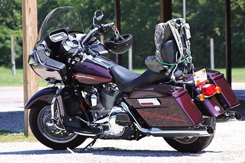 motocicleta da categoria touring
