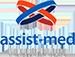 logotipo da assist med seguro viagem