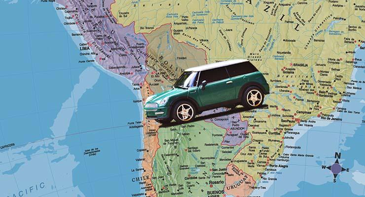 é possível comprar carro em outros países?