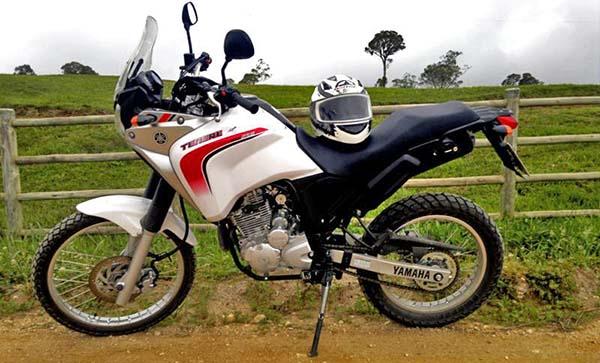 yamaha xtz 250 tenere modelo trail