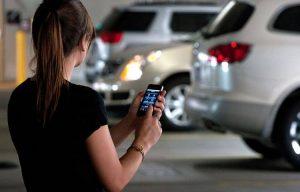 Monitora de direção pelo celular