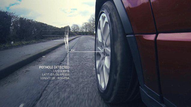 Sistema anti buraco da Land Rover