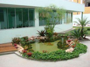 lago artificial em casa
