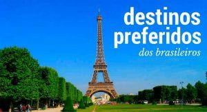 destinos preferidos dos brasileiros