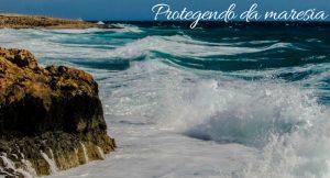 """imagem do mar com a legenda """"protegendo da maresia"""", com dias para proteger o carro da maresia"""