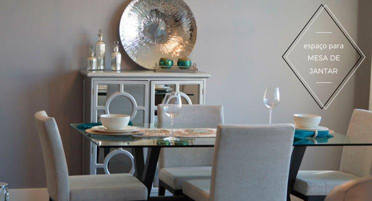 """imagem de uma mesa de jantar com a legenda """"espaço para mesa de jantar"""""""