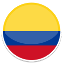 icone bandeira colombia