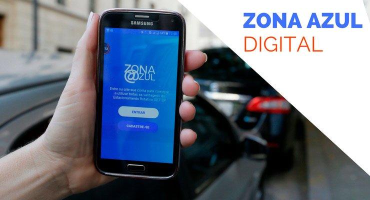 informações e detalhes sobre o novo zona azul digital
