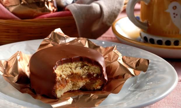 alfajor, doce tipico da argentina