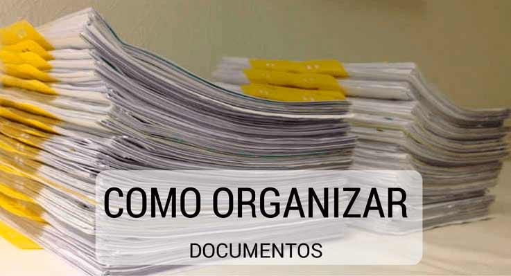 Como organizar os documentos em casa