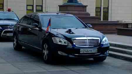 Mercedes-Benz classe-S limousine