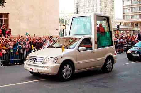 Mercedes Benz classe M – Vaticano