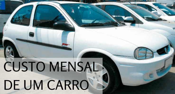 Custo de um carro
