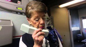 Bette Nash: Comissária de bordo mais experiente