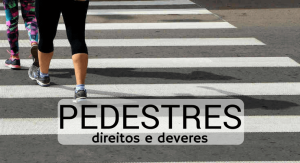 multas de pedestre