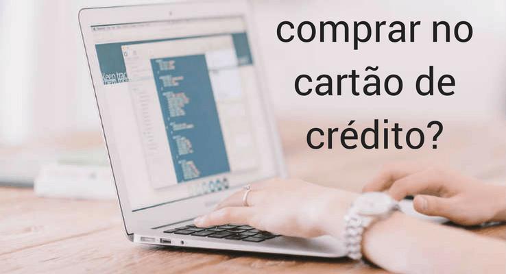 comprar com cartão de crédito