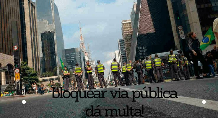 bloquear via pública