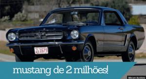 Mustang de 2 milhões