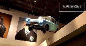 imagem do carro voador do filme Harry Potter e descrição: uma realidade Carros Voadores