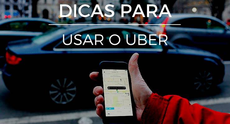 Dicas para utilizar o Uber