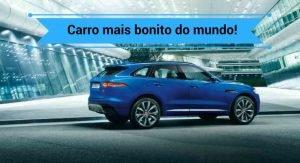 Carro Mais Bonito Do Mundo Conheça O Jaguar F Pace