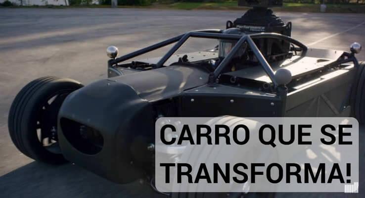 Conheça o carro que se transforma em qualquer outro