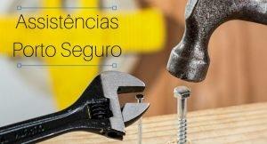 Imagem de ferramentas com a descrição: assistências Porto Seguro