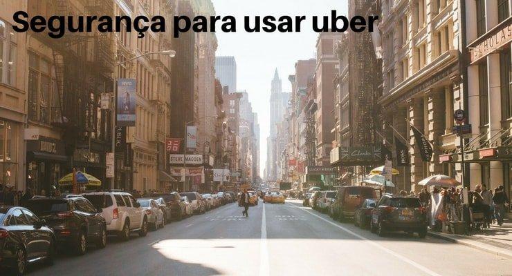 Segurança para usar uber