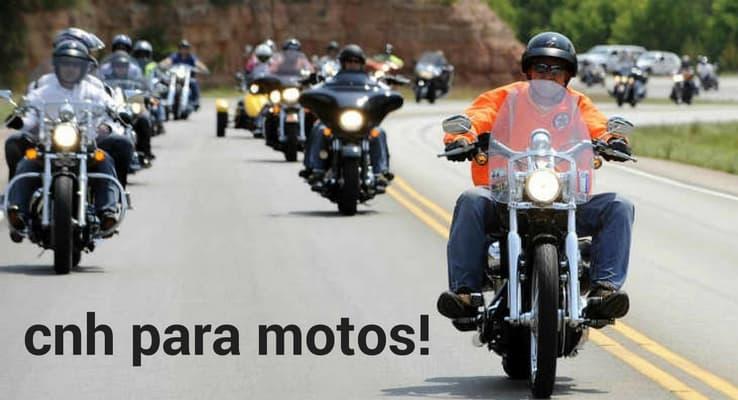 cnh de moto - a partir de quantas cilindradas preciso de uma?