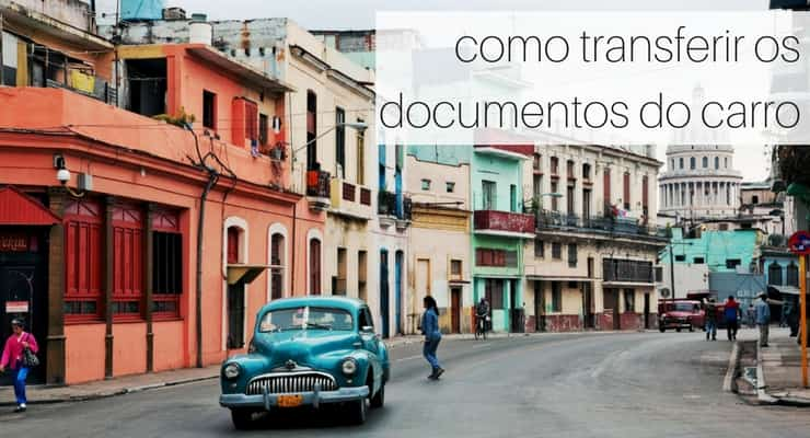 como transferir documentos do carro
