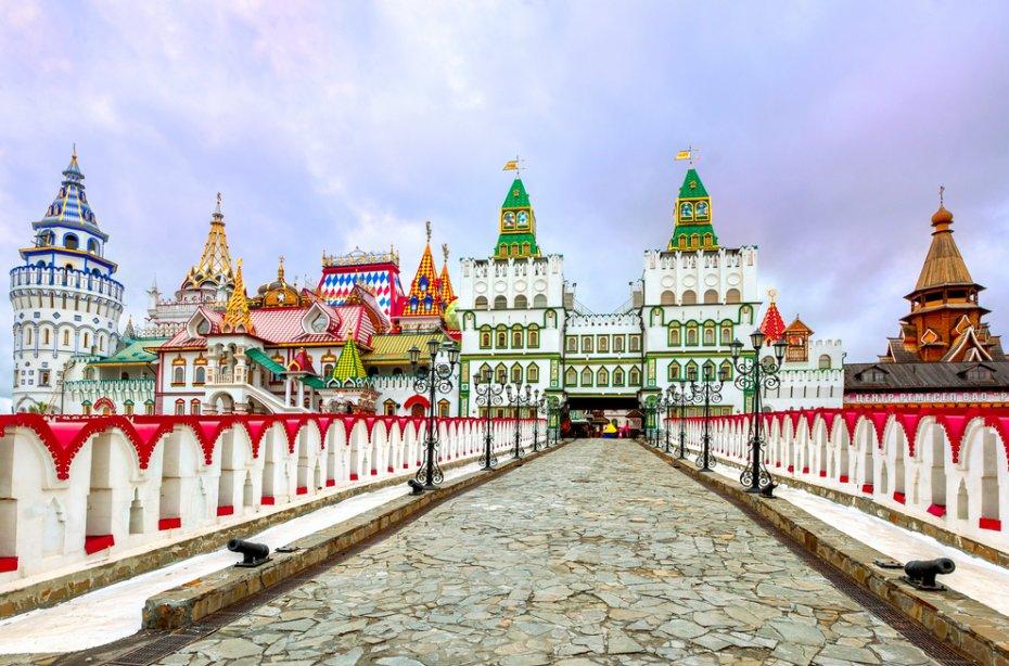 Foto do Parque Izmailovksy - Moscou