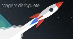Viagem de foguete