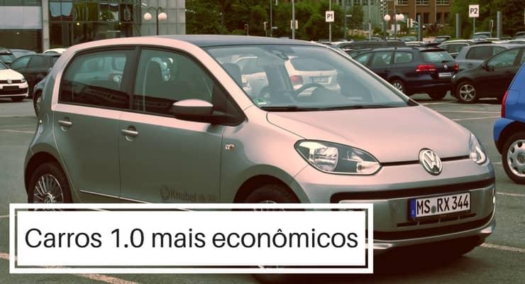 Carros 1.0 mais econômicos