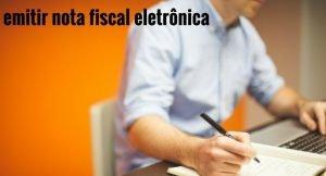 emitir nota fiscal eletrônica