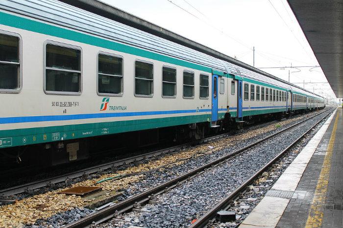 imagem que mostra trem na Europa representando post sobre mochilão na europa de trem - Europass