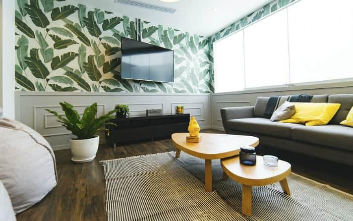 imagem de uma sala ilustrando post sobre aluguel de espaço em casa