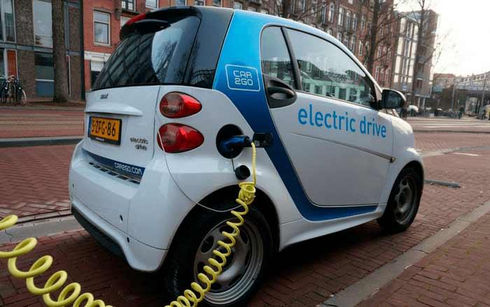 Imagem de um carro elétrico para ilustrar post sobre carros elétricos no Brasil