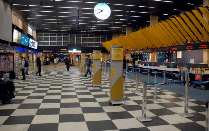 Imagem de aeroporto para ilustrar post sobre como fazer check-in no aeroporto