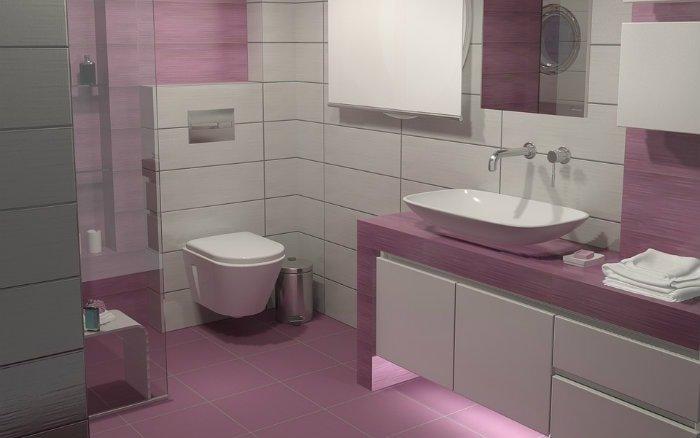 Imagem de banheiro com armários - post sobre como reformar banheiro pequeno