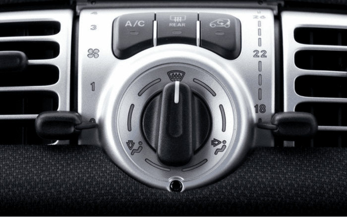 Imagem de botão de ar-condicionado para ilustrar post sobre dicas ar-condicionado