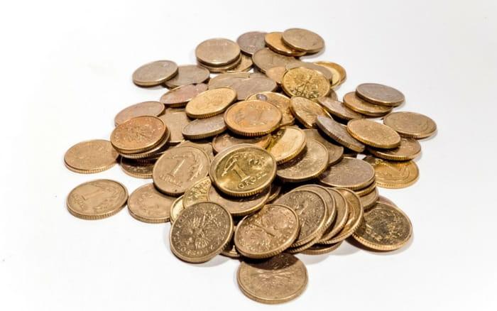 Imagem de moedas para ilustrar post sobre Quando posso sacar o FGTS
