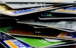 Imagem de cartões para post sobre juros no rotativo